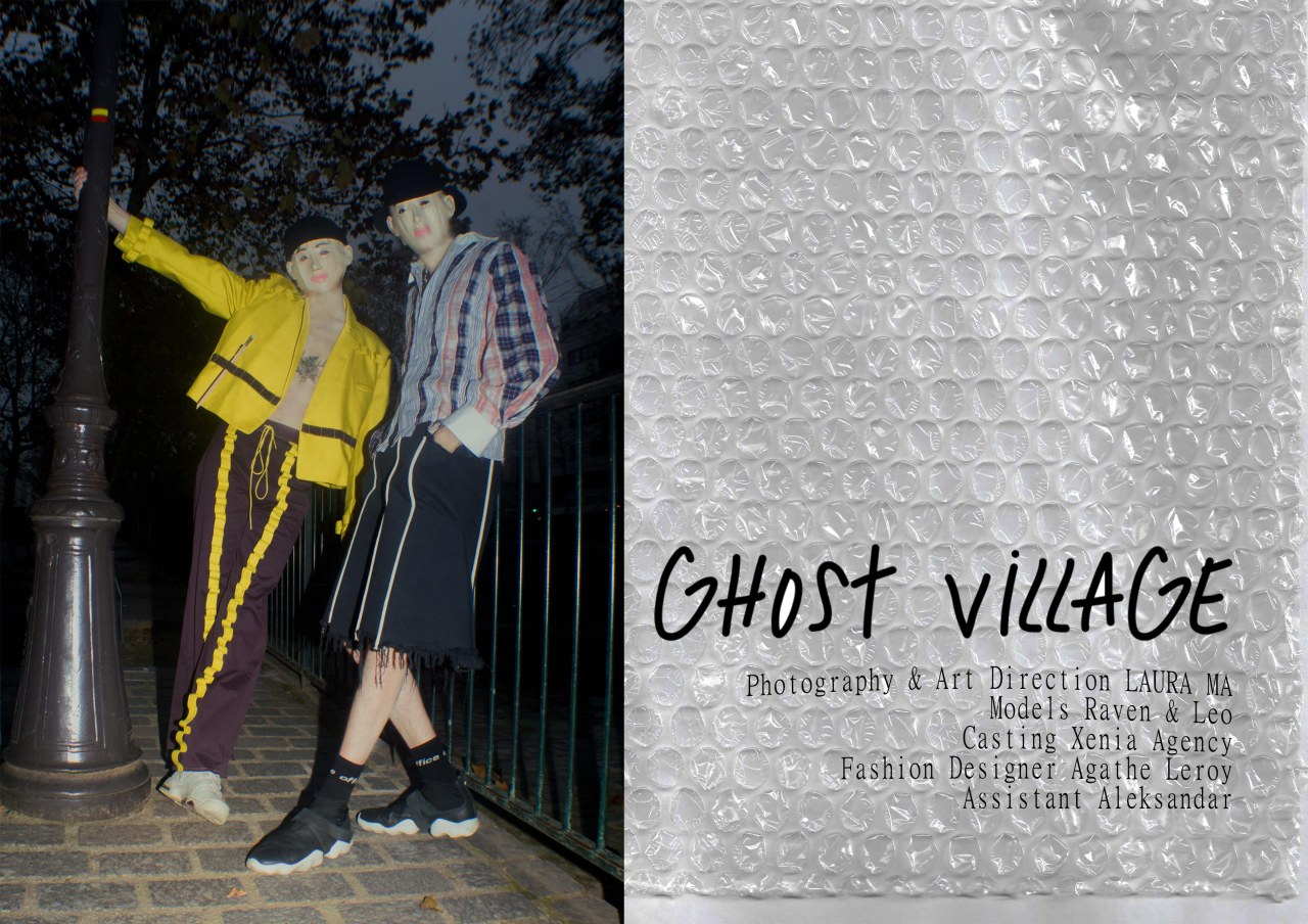 GHOST_VILLAGE_byLauraMa_edition01